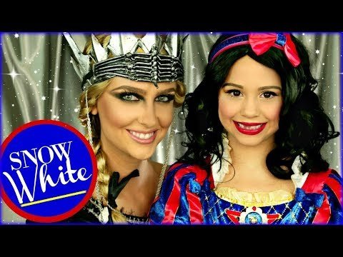 Snow White and the Evil Queen Ravenna Makeup and Costumes