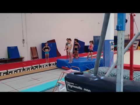 CHI SALTA PIU' LONTANO? Baby Challenge di ginnastica artistica
