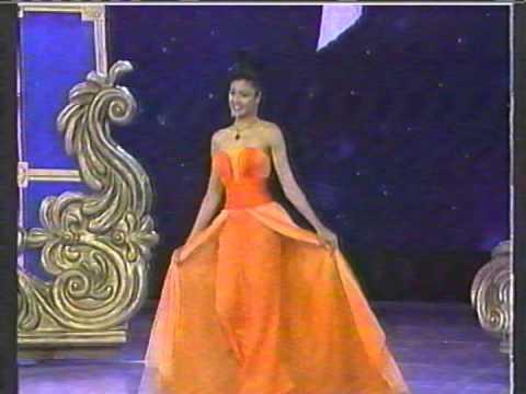 Miss Venezuela 1995 Evening Gown Part 2 - YouTube