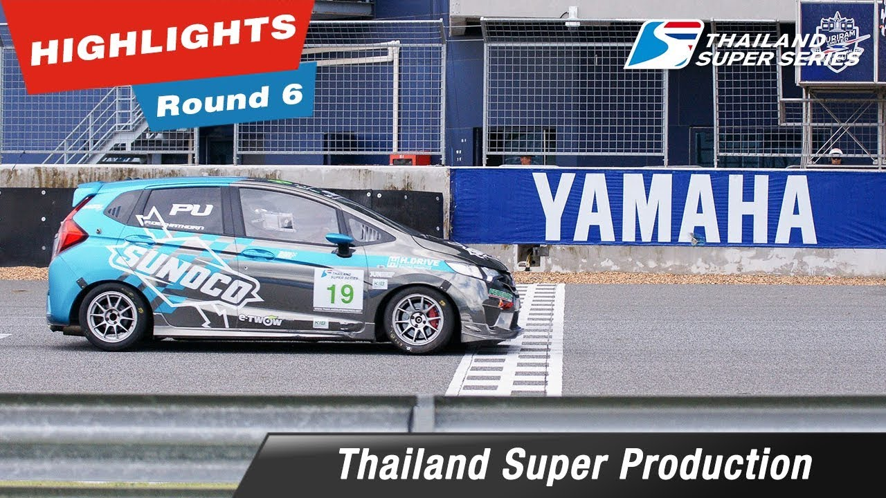 Highlights Thailand Super Production Round 6 : @Chang International Circuit