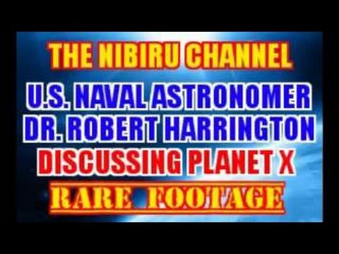 U.S.. Naval Astronomer Dr Robert Harrington discussing Planet X - 2017
