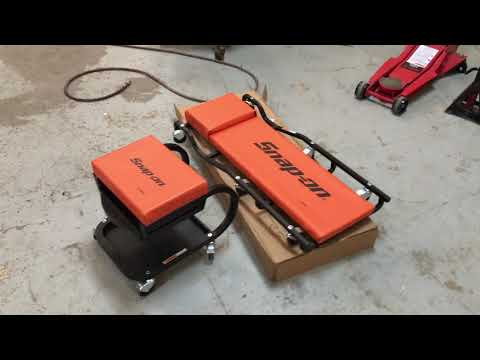 The Quickest Review Of The Snap On Tools Creeper (Rolling Work Bench) | $149