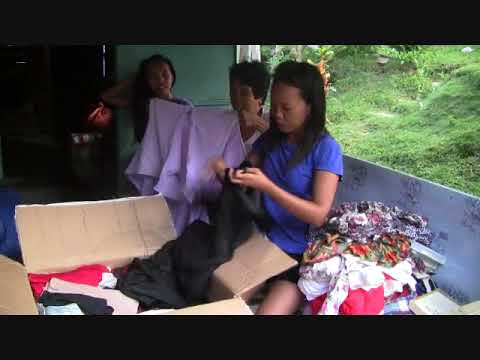 BALIKBAYAN BOX FULL PACK OF CLOTHES  FROM JOSIE MANNING PHOENIX ARIZONA