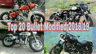 Top 20 Bullet Modified  Latest Royal Enfield Modified  Best Full  Bullet