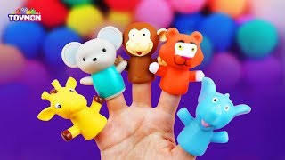 Gambar cover Find a animals hidden in Play foam! | Surprise Toys, Learn Colors | TOYMON