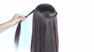 new hairstyle in 3 ways    easy hairstyles    hair style girl    hairstyles for girls    hairstyle