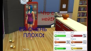 Челендж Дневник видеоблогера  ОНА НАГЛАЯ ХОЧЕТ ЕСТЬ, СПАТЬ, В ТУАЛЕТ ПОСТОЯННО!! Играю в The Sims 4