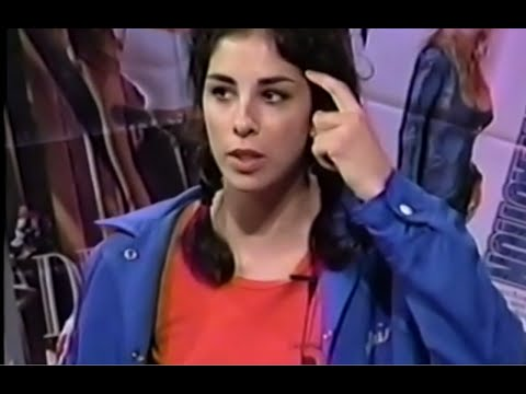 "Sarah Silverman on ""Colin's Sleazy Friends"" (1998)"