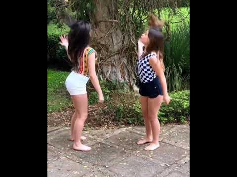 Luara Fonseca e Bia Herrero dançando  tosqueiras kk - Canal Teen