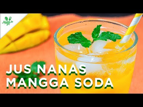 Resep Jus Nanas Mangga Soda