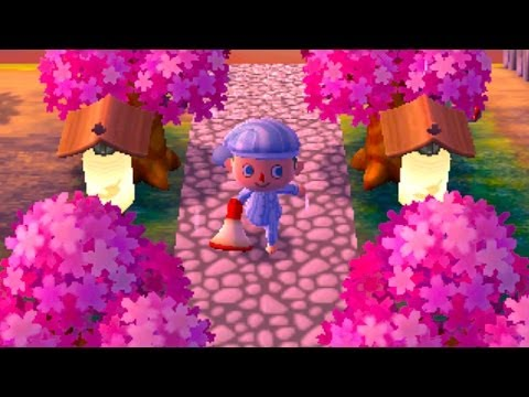 Dream Diary - Animal Crossing New Leaf Cherry Blossom Beauty