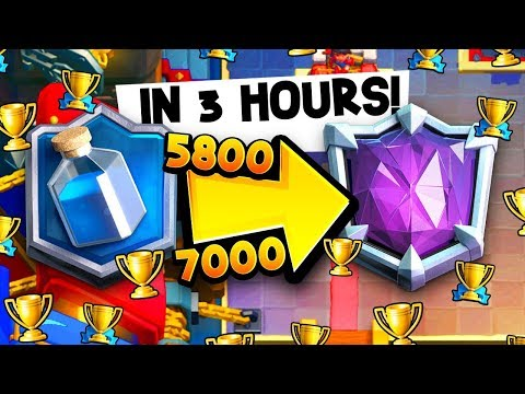 5,800 To 7,000 Trophies In THREE HOURS W/ This Deck!