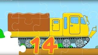 Puzzle. Autos 7. Die Geländefahrzeuge. Teil 2.