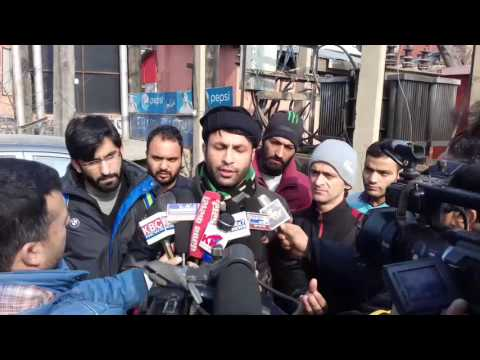 Protest Against J&K Sports council