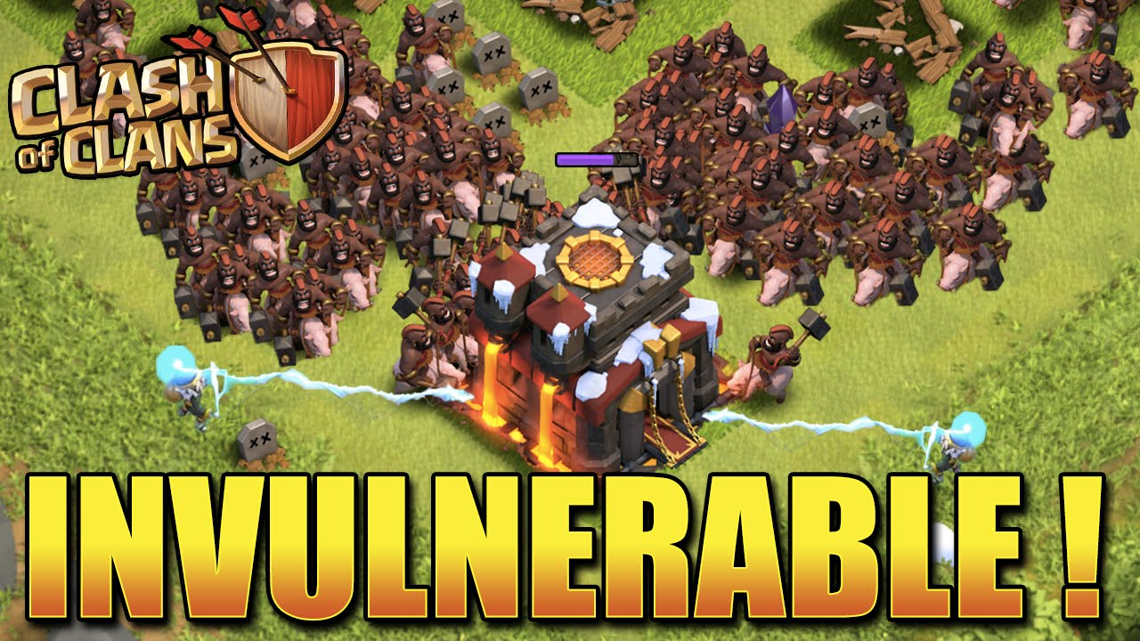 Compo d'Attaque INVULNERABLE ! | Clash Of Clans HDV 9 10 11