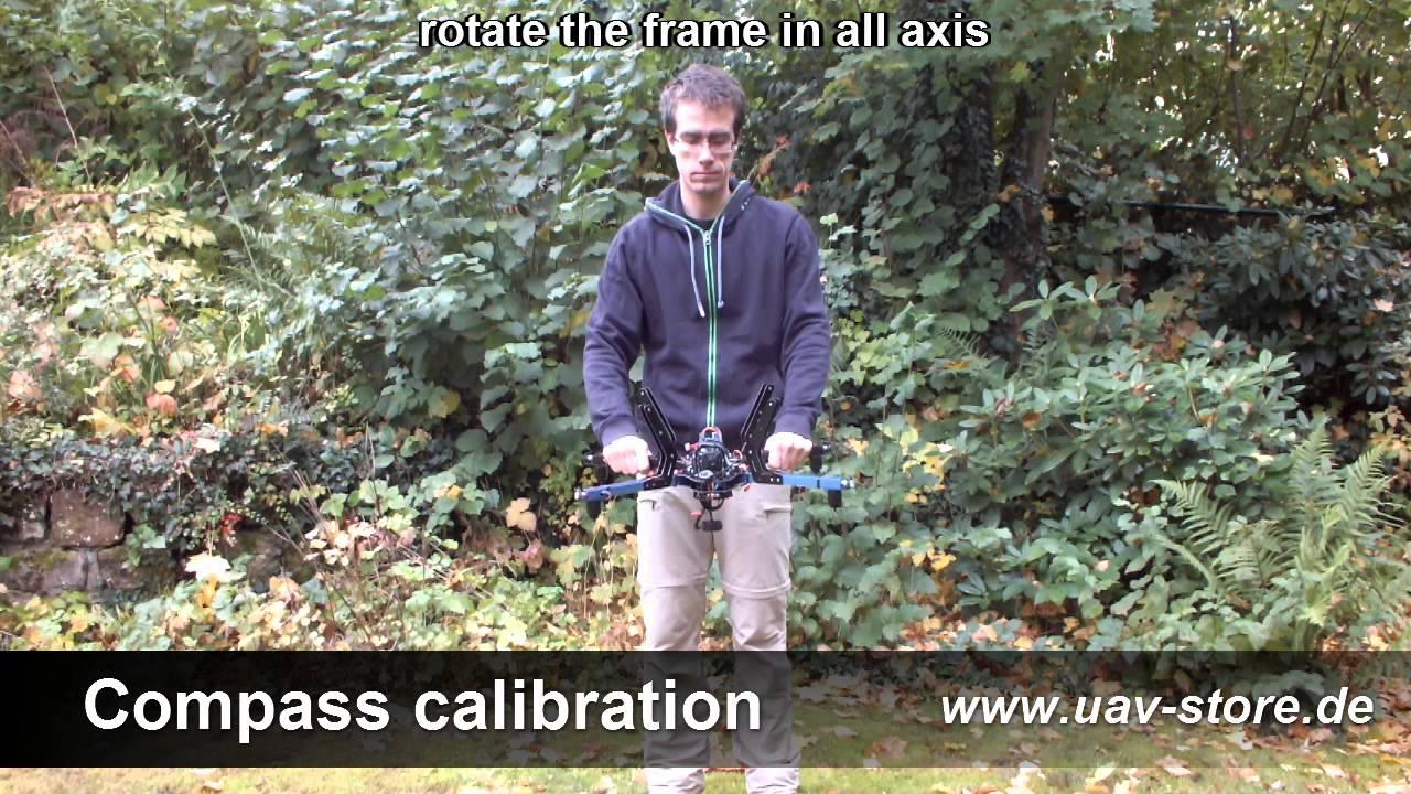 Pixhawk compass live calibration