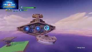 Disney Infinity How To Get A Star Destroyer To Attack You - Part 1