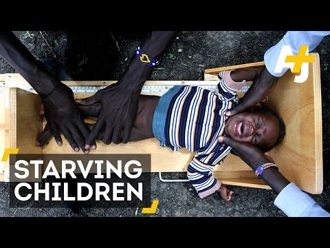 Children Are Facing Severe Food Shortages In South Sudan