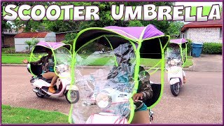 Scooter Umbrella (Sun & Rain Roof Cover)