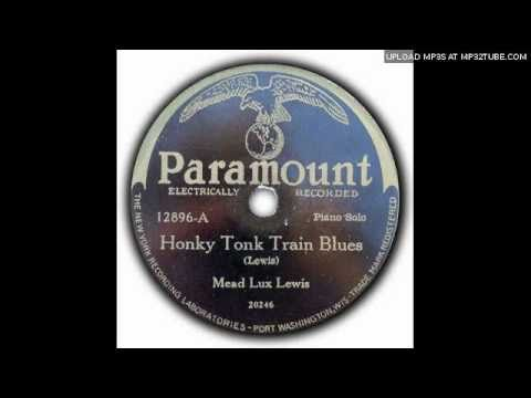 "Meade ""Lux"" Lewis - Honky Tonk Train Blues (original version)"