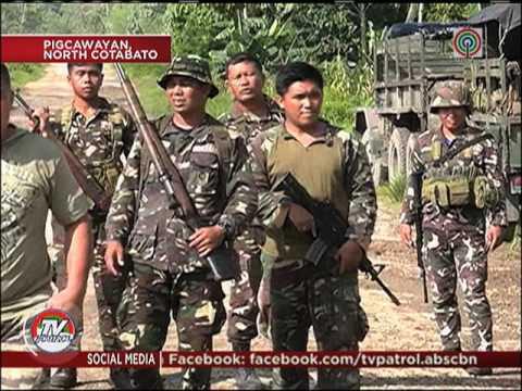8 patay sa bakbakang BIFF-militar sa Cotabato