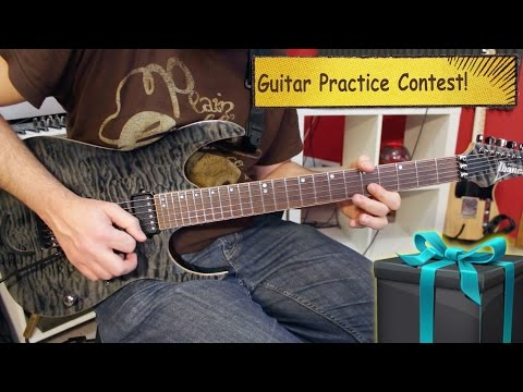 Mysterious Guitar Practice Contest