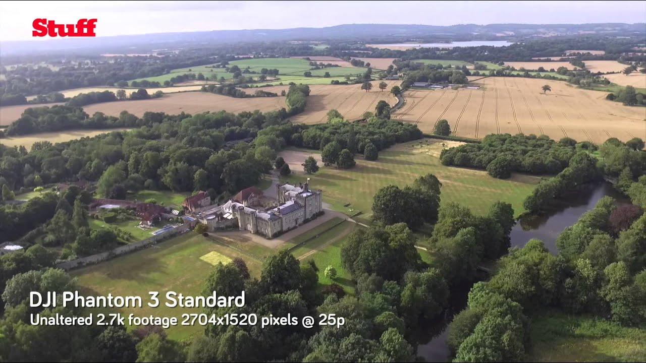 DJI Phantom 3 Standard Test Footage