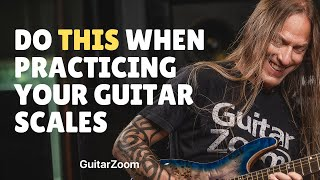 Do THIS When Practicing Your Guitar Scales for Better Results - Steve Stine Guitar Lesson