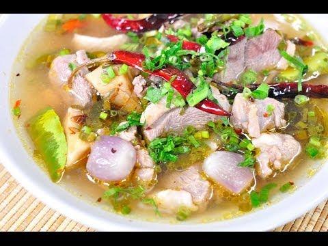 ต้มแซบเป็ด Duck Spicy Soup