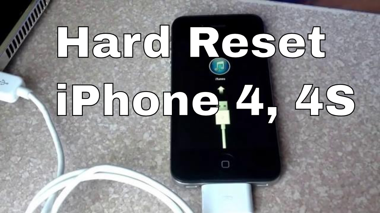 iphone 4s factory reset how to reset iphone 4s through recovery mode 14430