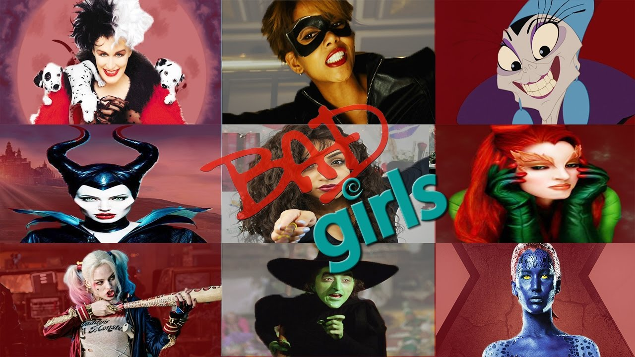 Top 10 Female Villains | Halloween | KissedByKen