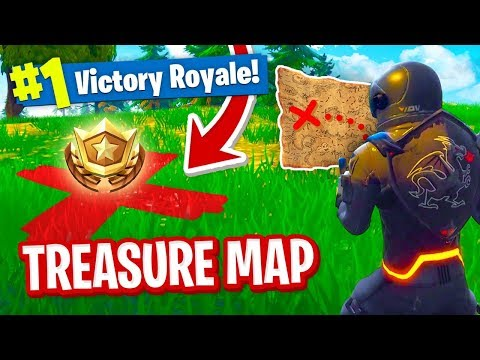 How To Solve The *FIRST* TREASURE MAP in Fortnite!