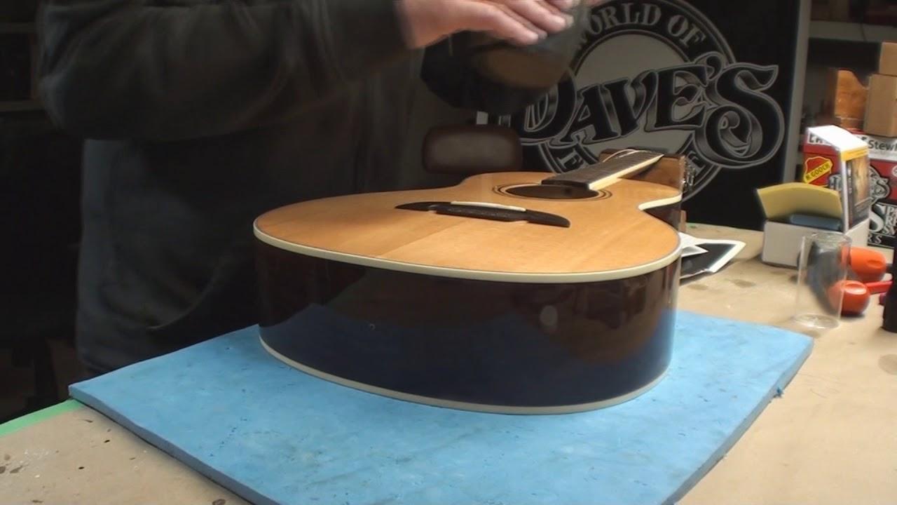 k k sound acoustic guitar pickup install youtube. Black Bedroom Furniture Sets. Home Design Ideas