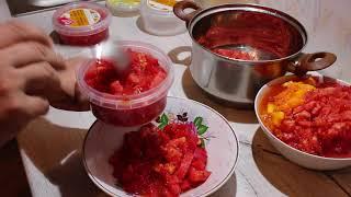 Заготовка помидоров свежими на зиму. Лайфхак!!!
