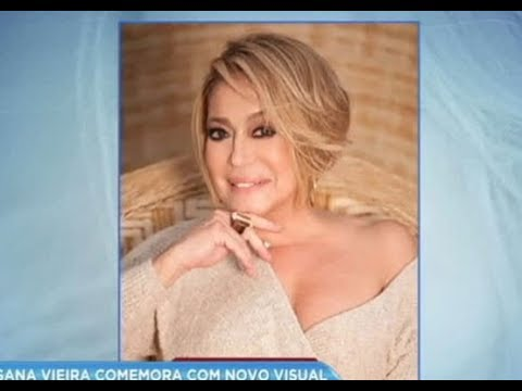 Hora da Venenosa: Susana Vieira comemora novo visual
