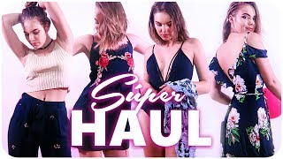 SUPER HAUL DE VERANO + TRY ON