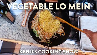 Vegetable Lo Mein | Kenji's Cooking Show