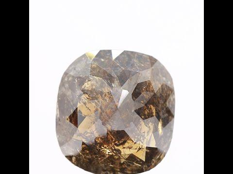 5.65-carat-natural-diamond-cushion-cut-fancy-brown-rose-cut-loose-diamond-for-custom-ring