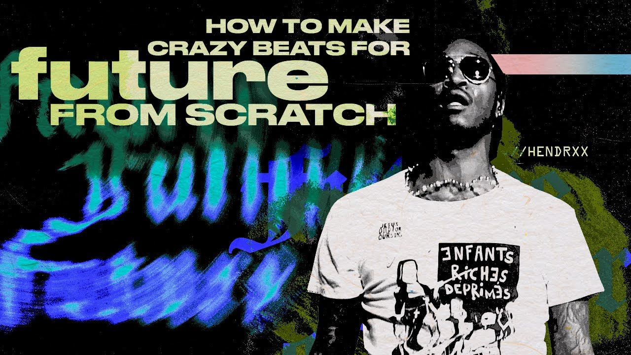 How Cubeatz Makes Crazy Melodies For Future From Scratch!