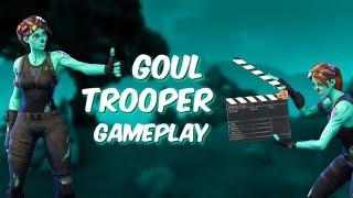 | Goul Trooper Gameplay | TOP Goul-Trooper?!? | *INSANE* 10 Kill Solo Win | (Fortnite Battle Royale)