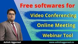 Best Free Video Conferencing Softwares   Free Webinar Tools   Zoom meeting software   Ashish Agarwal screenshot 2