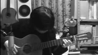 """Higurashi """"you"""" [Dear you] on guitar"""
