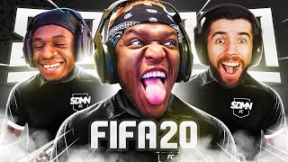 GOALS, RED CARDS AND MORE GOALS (Sidemen Gaming)