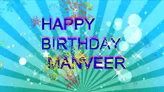 Happy birthday Manveer