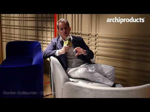 Salone del Mobile.Milano 2017 | MOROSO - Gordon Guillaumier talks about the Sofa Josephin