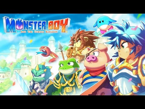 Découvrez Monster Boy and the Cursed Kingdom avec Fabien de Game Atelier