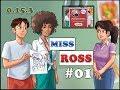 Summertime Saga  Miss Ross | 0.16.1| Quest of Arts | The Teachers | Complete walkthrough