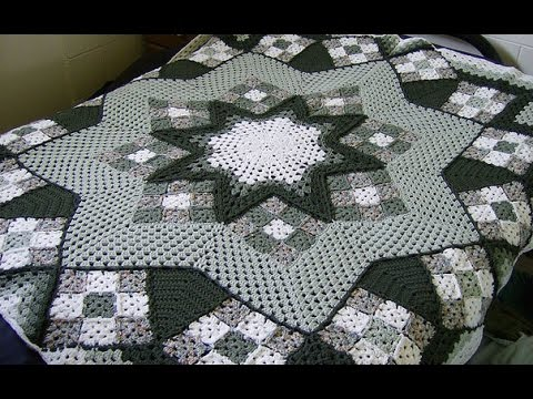 Crochet Patterns For Free Crochet Bedspread 1699 Youtube