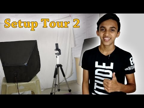 Setup Tour 2🎬🎥 | Tech MS