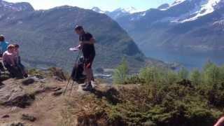 Frå Frilufts-Gudsteneste på Hovdeåsen,Hundeidvik 20. mai-2013